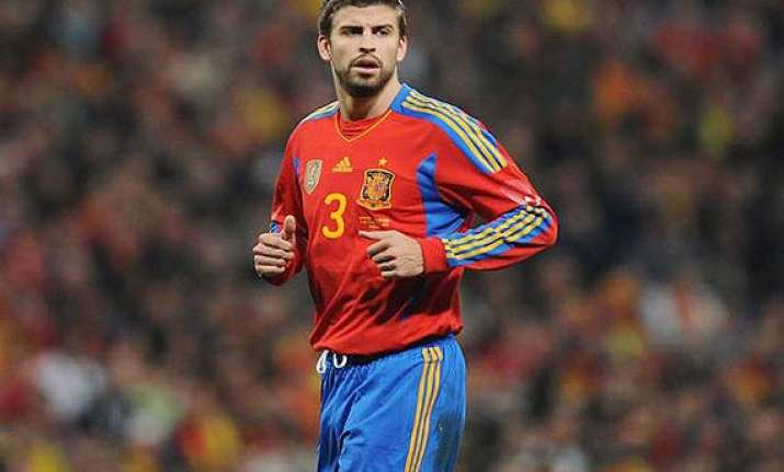 gerard pique spain not the only world cup favourite