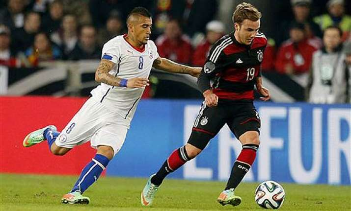 germany beats chile 1 0 in international friendly.