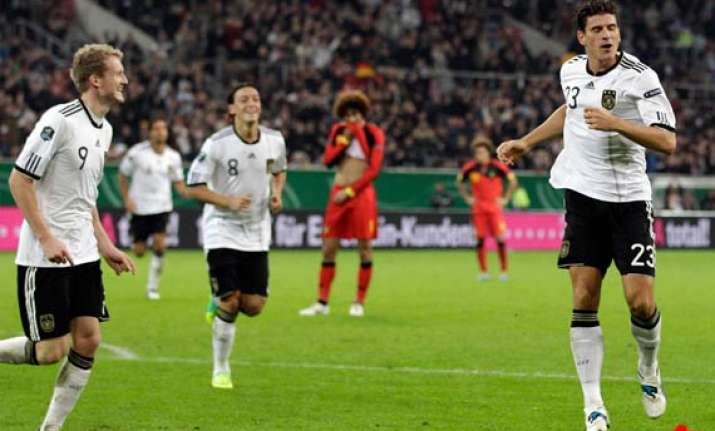 germany beats belgium 3 1 in euro qualifier