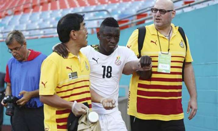 ghana wins warmup before world cup opener