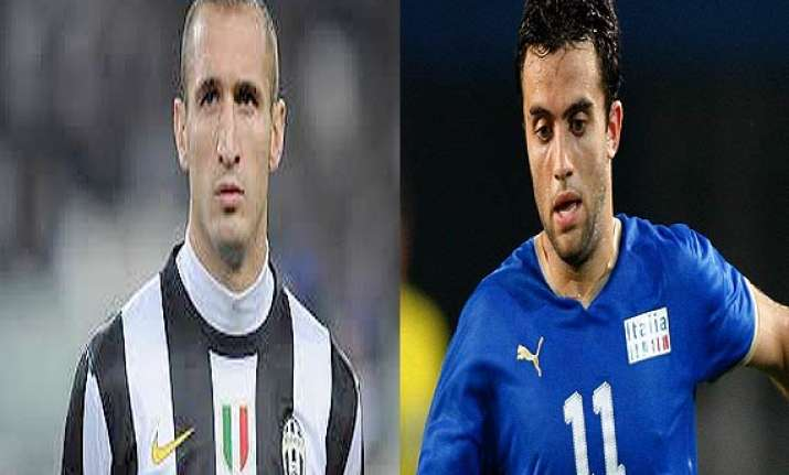 giorgio chiellini giuseppe rossi included in italy world