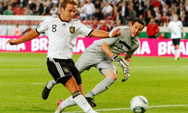 goetze scores as germany beats brazil 3 2