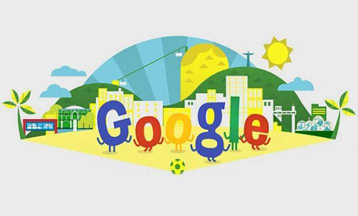 google celebrates the inauguration of fifa world cup in