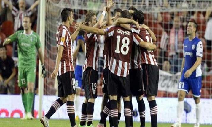 granada beats athletic bilbao in spanish league