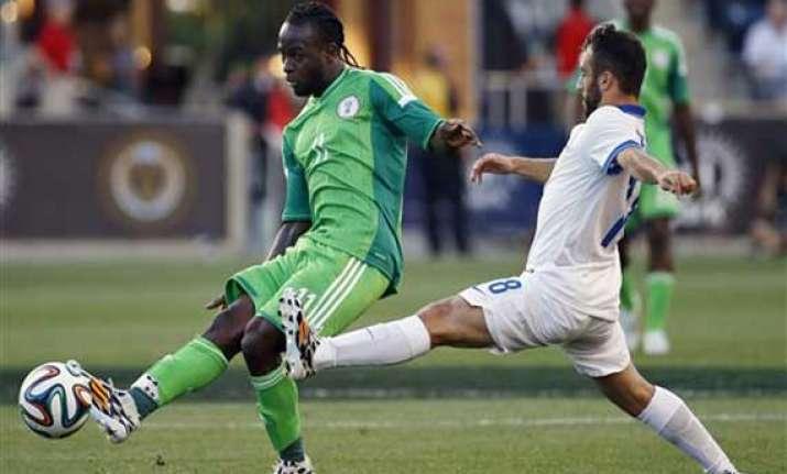 greece nigeria tune up with 0 0 draw