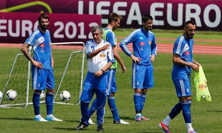 greece captain promises germany tough fight