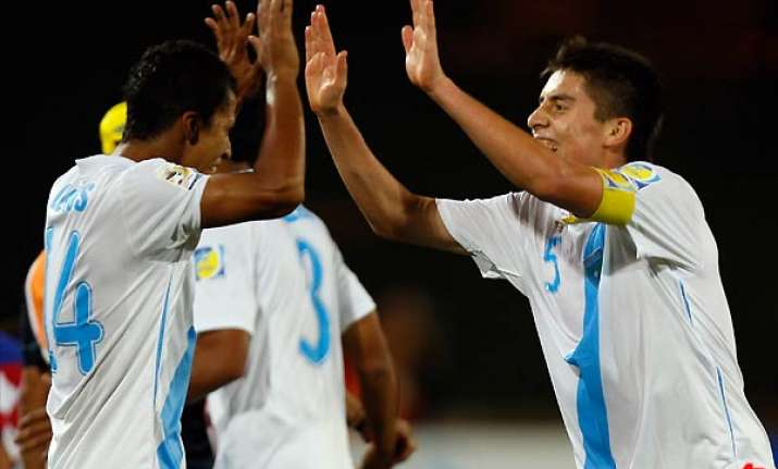 guatemala defeats croatia 1 0 to advance