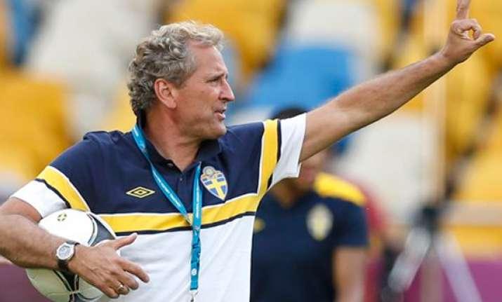 hamren says sweden headed in right direction
