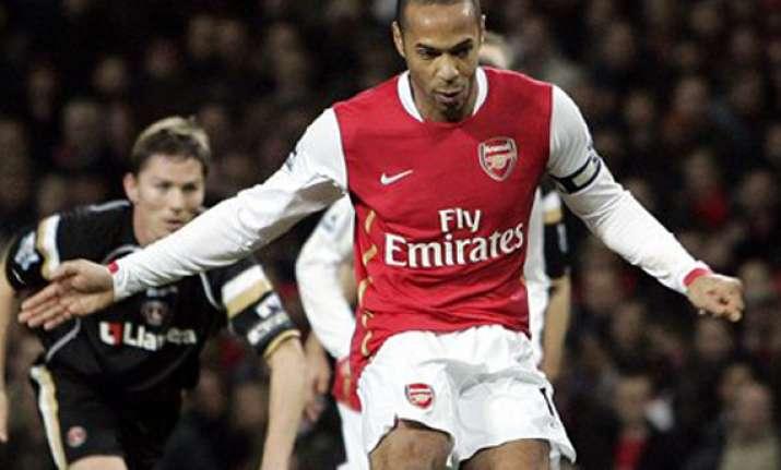 henry rejoins arsenal on loan