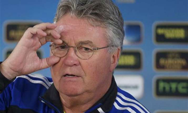 hiddink appointed new netherlands coach