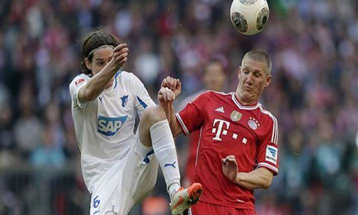 hoffenheim ends bayern s 19 game winning bundesliga run.