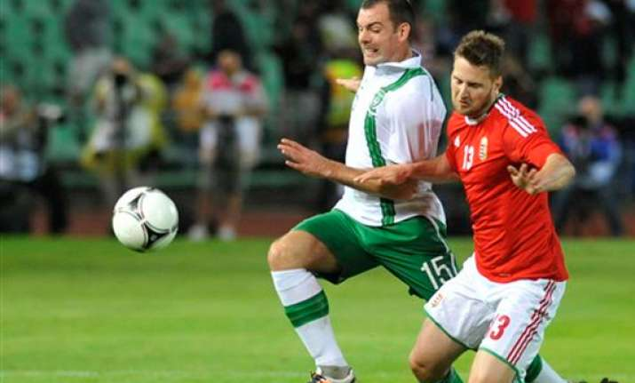 hungary ireland draw 0 0 in euro 2012 warm up
