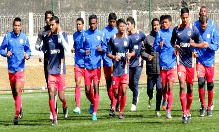 i league dempo fc nervous but excited to play against