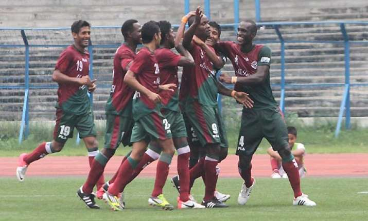 i league mohun bagan beat salgaocar 2 1