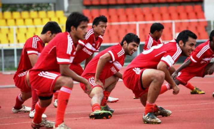 i league pune fc ready for their first match at home