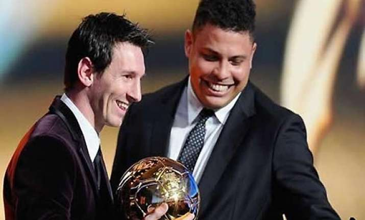 i would love messi to play for brazil ronaldo