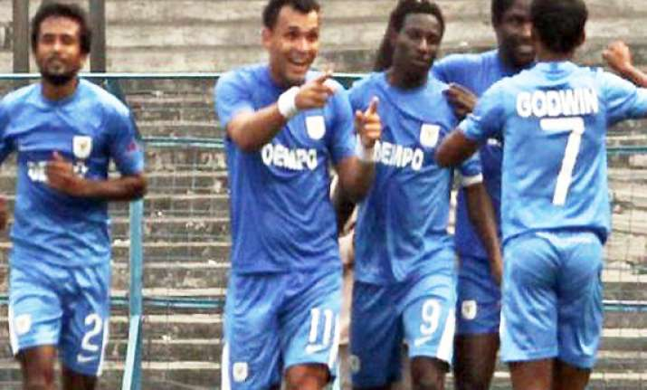 i league dempo beat salgaocar