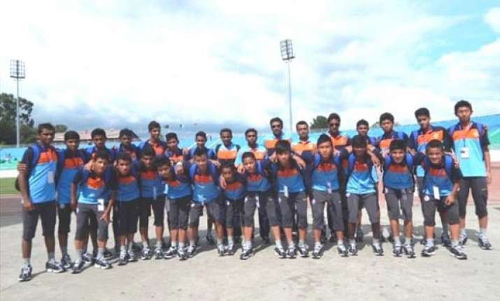 india are u 16 saff cup champions