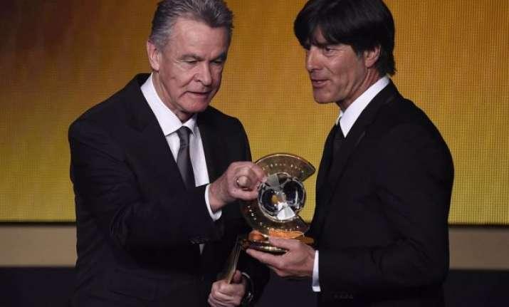 world coach of year a great honour joachim low