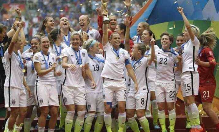 women s world cup us crushes japan 5 2 to win third title