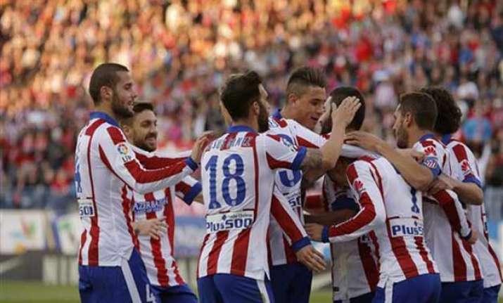 atletico madrid beats real sociedad 2 0 in spanish league