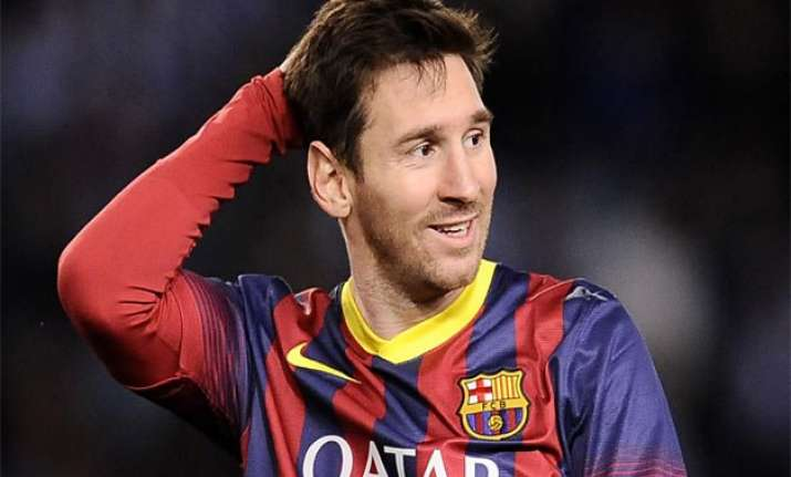 all eyes on lionel messi s foot as la liga returns after
