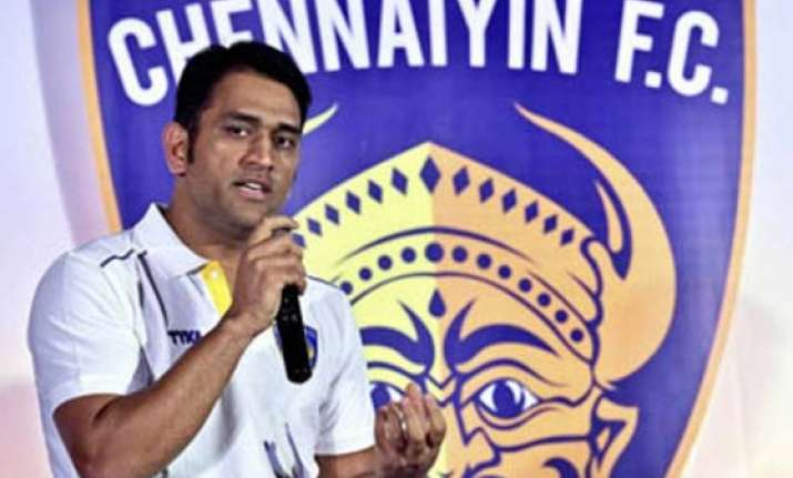 ms dhoni becomes co owner of chennaiyin fc