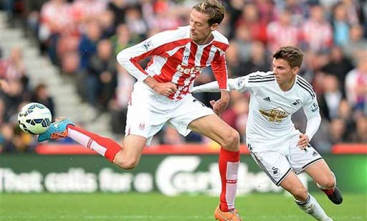 epl stoke comes from behind to beat swansea 2 1