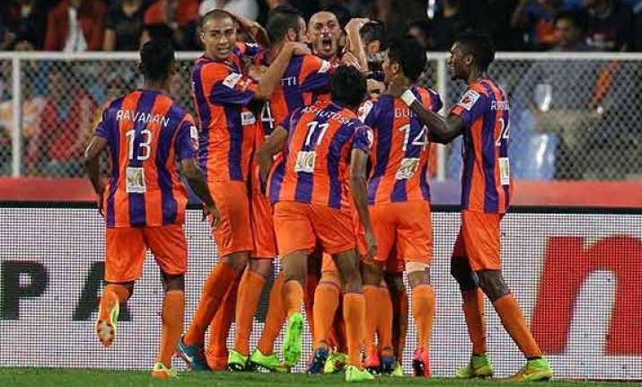 isl trezeguet fires as pune beat goa 2 0 to record maiden