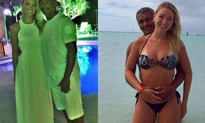 brazilian legend romario dating 19 year old singer dixie