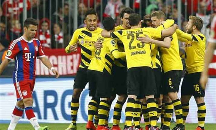 bayern loses to dortmund in german cup