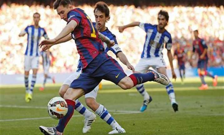 la liga title could be decided on sunday night