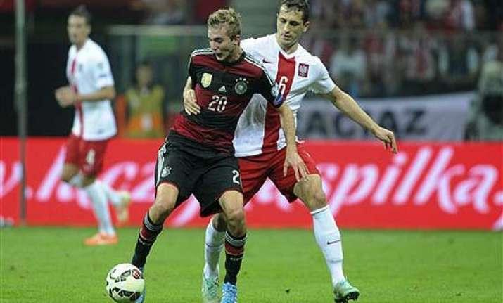 germany midfielder kramer out of ireland game