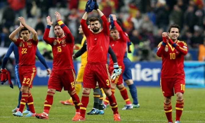 spain out of top 10 in fifa rankings for 1st time since 2007