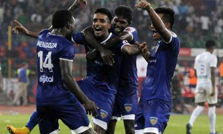 isl chennai bounce back thrash mumbai 5 1