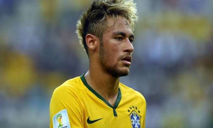 neymar vows to help brazil win olympic gold in 2016