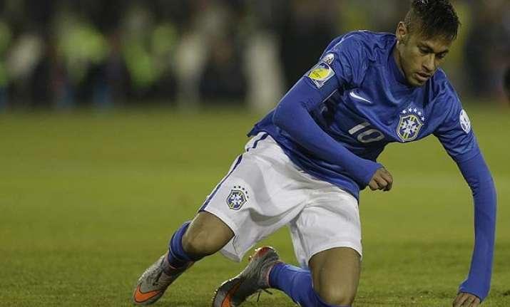 Neymar In Danger Of Missing Copa America Quarterfinals Indiatv News
