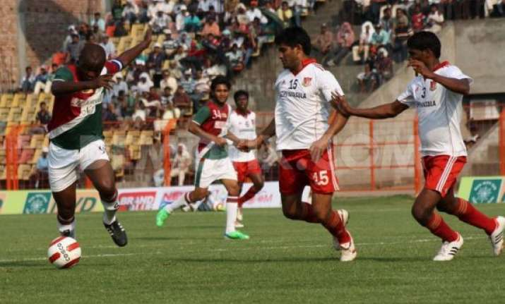 federation cup pune hold mohun bagan to 1 1 draw