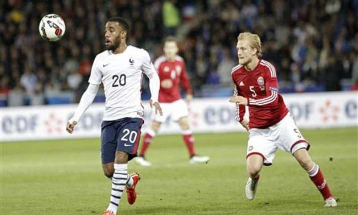 france beats denmark 2 0 in friendly match