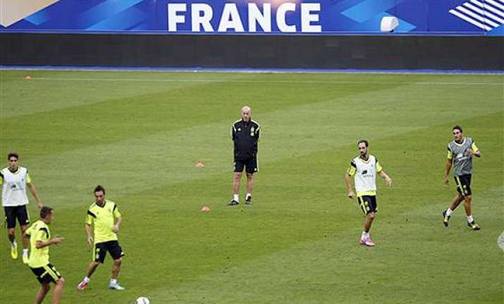 france friendly first step as spain rebuilds