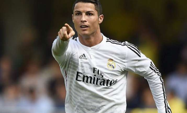 real madrid cruise to 4 1 victory over espanyol on ronaldo