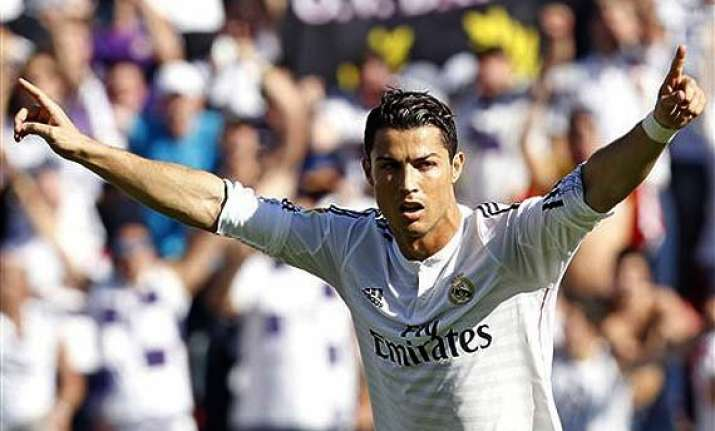 cristiano ronaldo sets best scoring start in spanish league