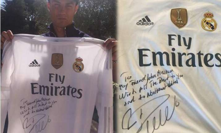 isl 2015 cristiano ronaldo wishes all the best to northeast