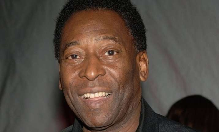 pele hospitalised with spinal problem