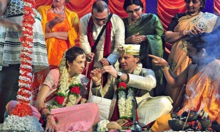 former ukrainian footballer remarries wife in indian
