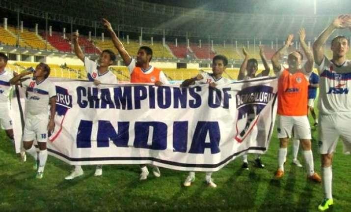 bengaluru fc bag maiden federation cup title