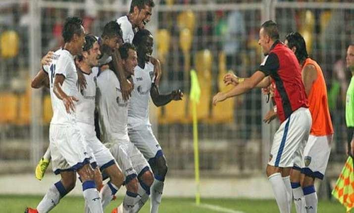 isl chennaiyin fc register first away win against goa fc