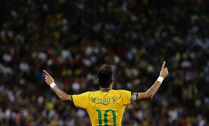neymar hailed by brazil s media after big win