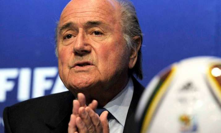 fifa deflects criticism over blatter s absence in final