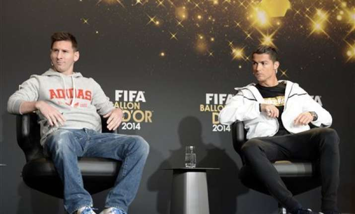 ronaldo s rivalry with messi useful portuguese coach